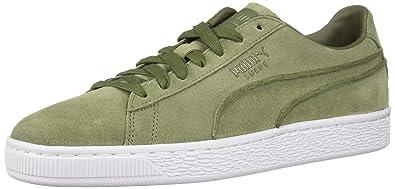 96520fbe5707 PUMA Men s Suede Classic Exposed Seams Sneaker Capulet Olive 7 ...