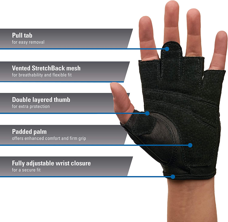 Harbinger Women's Power Weightlifting gloves