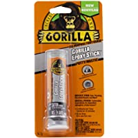Gorilla All Purpose Epoxy Putty Stick, Adhesive, Sealer, Waterproof, Non-Rusting, Hand-Mixable, 10 Min. Set Time, 2…