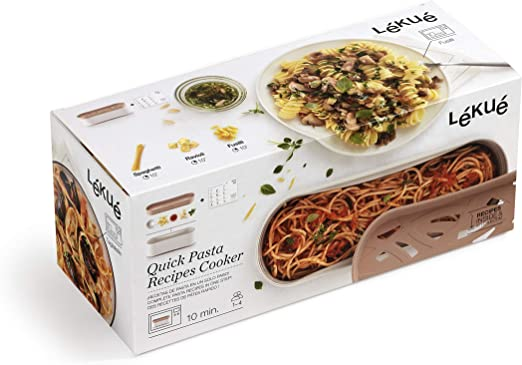 Lékué Recipiente Quick Pasta, 1500 ml, Polipropileno: Amazon.es: Hogar