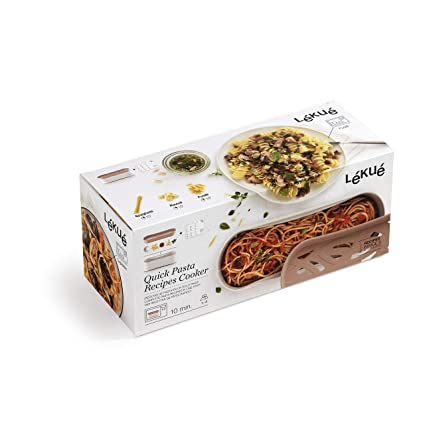 Lékué Quick Pasta, 1500 ml, Polipropileno