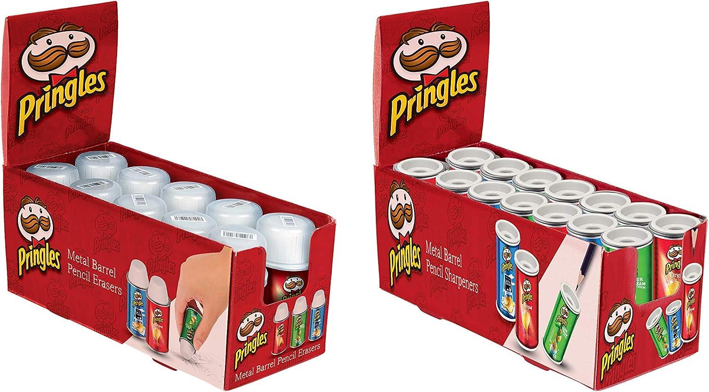 Objeto de papelería de Pringles, color verde, rojo: Amazon.es ...
