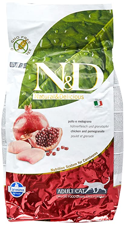 N&D GRAIN FREE Gato de pollo de grano seco libre de gato