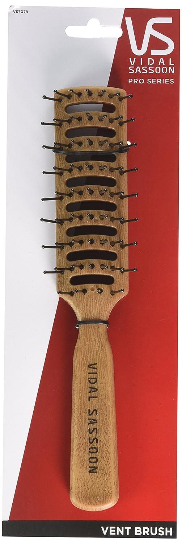 Amazon.com : Vidal Sassoon Large Vent Brush, Simulated Wood : Hair Brushes : Beauty