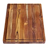 Terra Teak Cutting Board, Extra Large With Juice