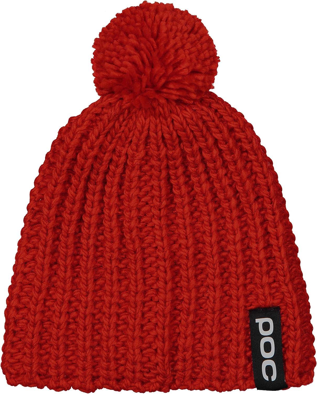 Boina POC Prismane Red Gorro Unisex 64260 Unisex Adulto Talla /única