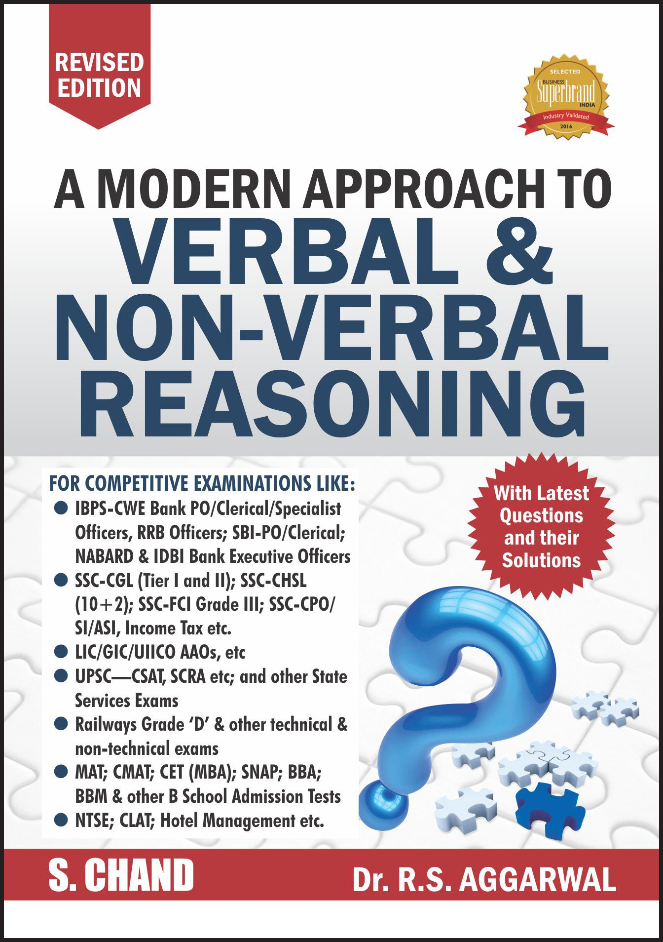 Rs Agarwal Verbal And Non Verbal Reasoning Book