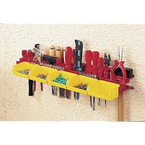 Mottez B005F Porte-outils avec 5 bacs à vis