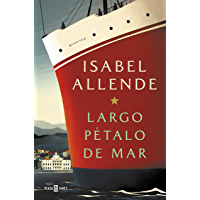 Largo pétalo de mar (Spanish Edition) book cover