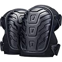 Professional Knee Pads for Work - Heavy Duty Foam Padding and Comfortable Gel Cushion for Construction, Gardening…
