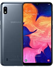 Samsung Galaxy A10 Dual-SIM 32GB 6.2-Inch HD+ 13MP Camera Android 9 Pie UK Version Smartphone – Black