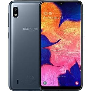 Samsung Galaxy A10 Dual-SIM 32GB 6.2-Inch HD+ 13MP Camera Android 9 Pie UK Version Smartphone – Black
