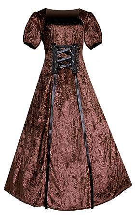 0163b32c802 Amazon.com  Victorian Renaissance Steampunk Gothic Mori Girl Romantic Dress   Clothing