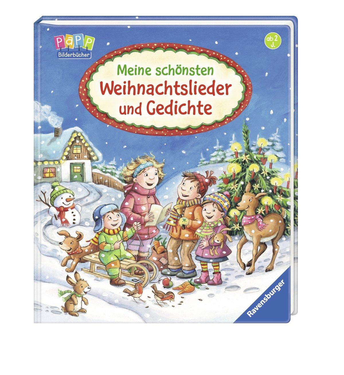 Meine schönsten Weihnachtslieder und Gedichte: Amazon.de: Volksgut ...