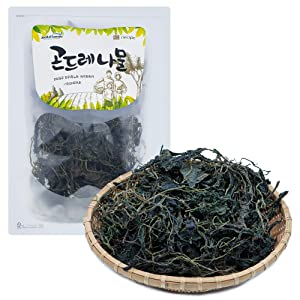 Korean Green Thistle [ Korean Pantry ] Dried Gondre from Korea, Asian Herbs for Traditional Dishes [ JRND Foods ]