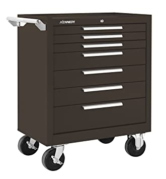 Kennedy Manufacturing 277Xb 7 Drawer Roller Tool Cabinet With Chest Wheels  And Ball Bearing