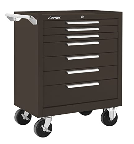 Kennedy Manufacturing 297B 7-Drawer Roller Tool Cabinet With Chest ...