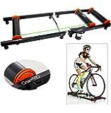 yaetek Premium Innen-Fahrrad Bike Roller Rollen Trainer Schwarz