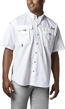 Columbia Mens PFG Bahama II Short Sleeve Breathable Fishing Shirt