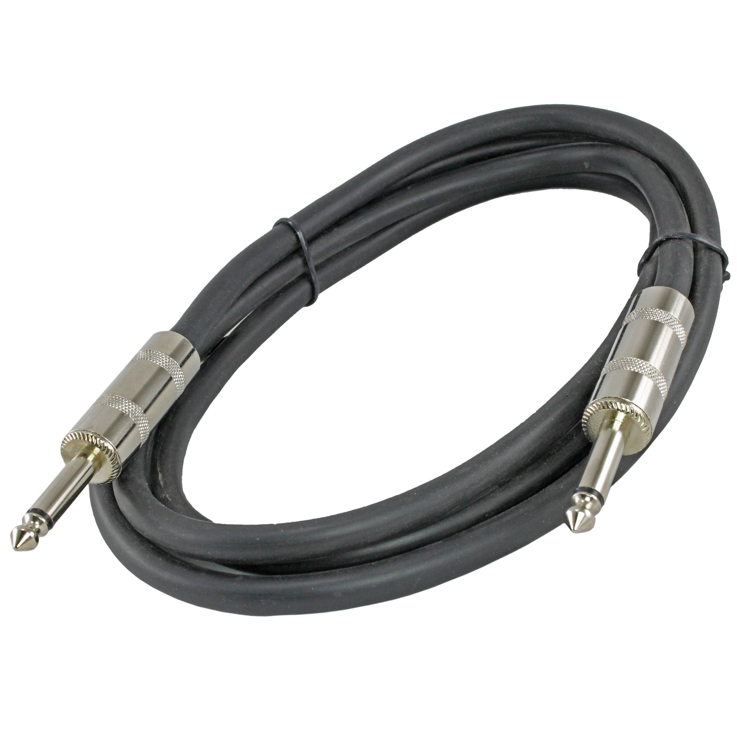 MCSPROAUDIO 12 Gauge Speaker Cables 2 CABLE PACK (6ft, 1/4'' to 1/4'') by MCSproaudio (Image #3)