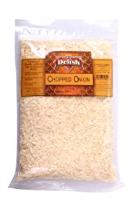 Chopped Onion by Its Delish, 2 lbs | Dehydrated Chopped Onion Dried
