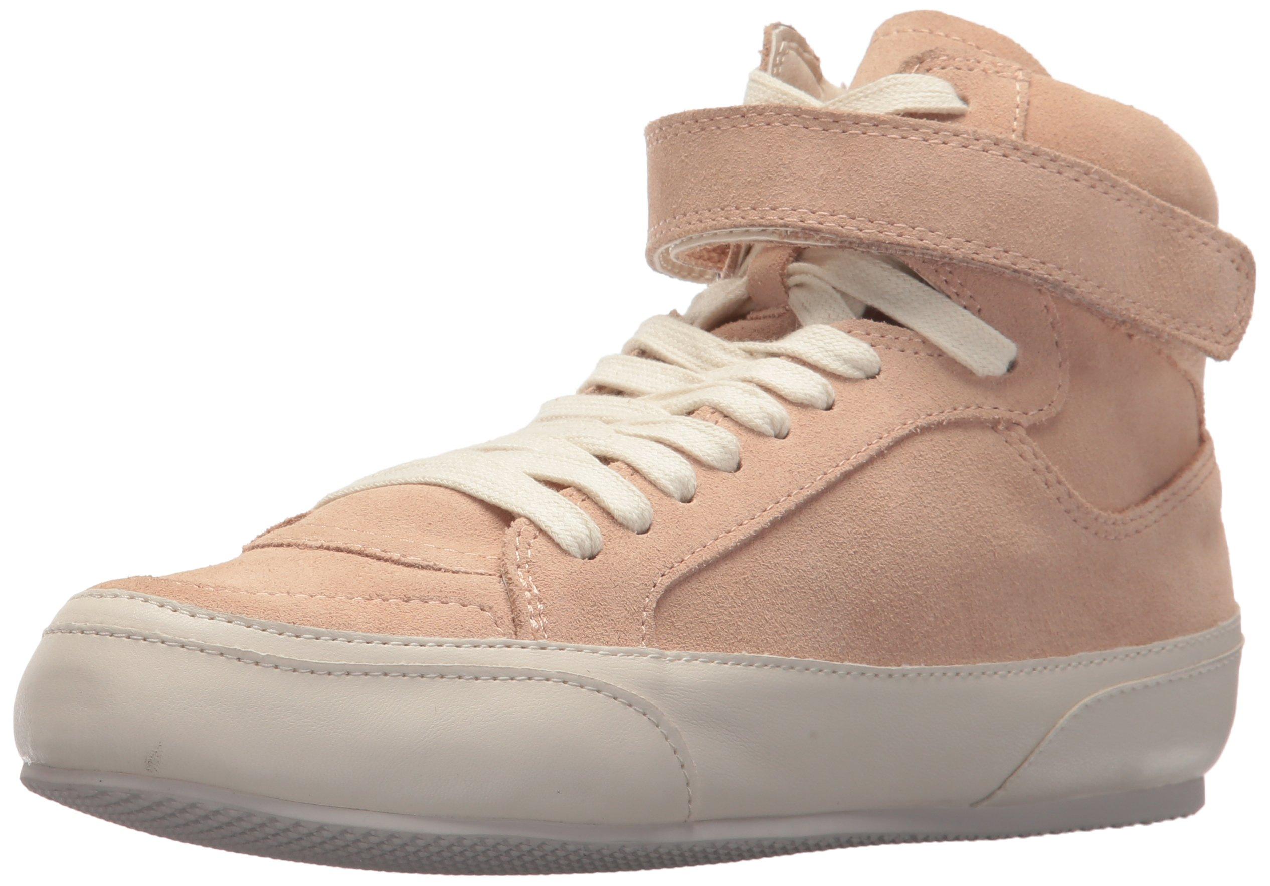 Dolce Vita Women's Westly Sneaker, Blush Suede, 9 Medium US