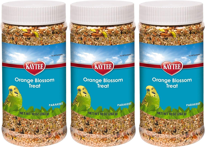 Kaytee Forti Diet Pro Health Parakeet Orange Blossom Honey Treats, 10-Ounce (Pack of 3)