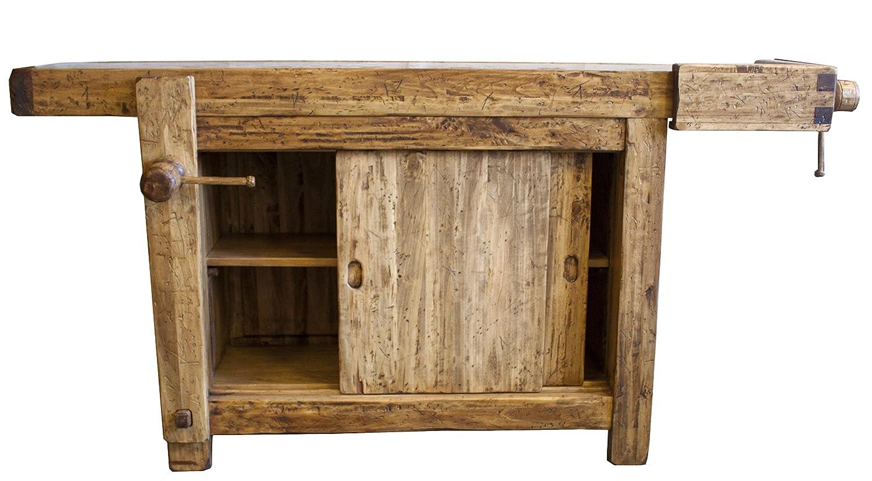 Bancone In Legno Costruito Artigianalmente : Maxioccasioni banco da falegname legno: amazon.it: casa e cucina