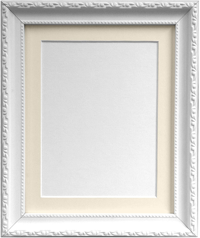 Frames By Post AP3025 Foto Rahmen mit 45 x 30 cm elfenbeinfarbenem ...