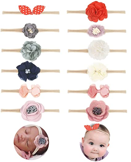 Kids Girl Baby Headband Toddler Lace Bow Flower Infant Hair Band Accessories Lot Clothing, Shoes & Accessories