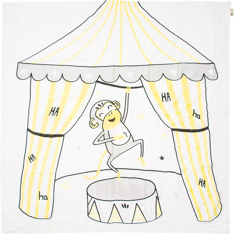 Infantil Cobija Envolvente De Muselina 100/% Algod/ón Org/ánico Kippins 120 x 120 cm Grande Splits Manta Envolvente De Pa/ñales Suave y Transpirable