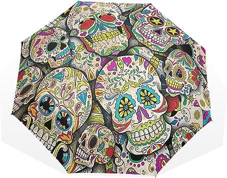 Parapluie tête de mort 11