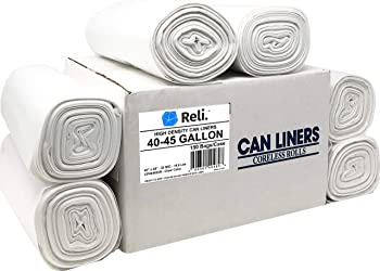 Reli. Trash Bags 40 to 45 Gallon Can Liners
