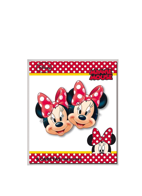 Minnie Mouse - 6 caretas (Verbetena 014000552): Amazon.es: Juguetes y juegos