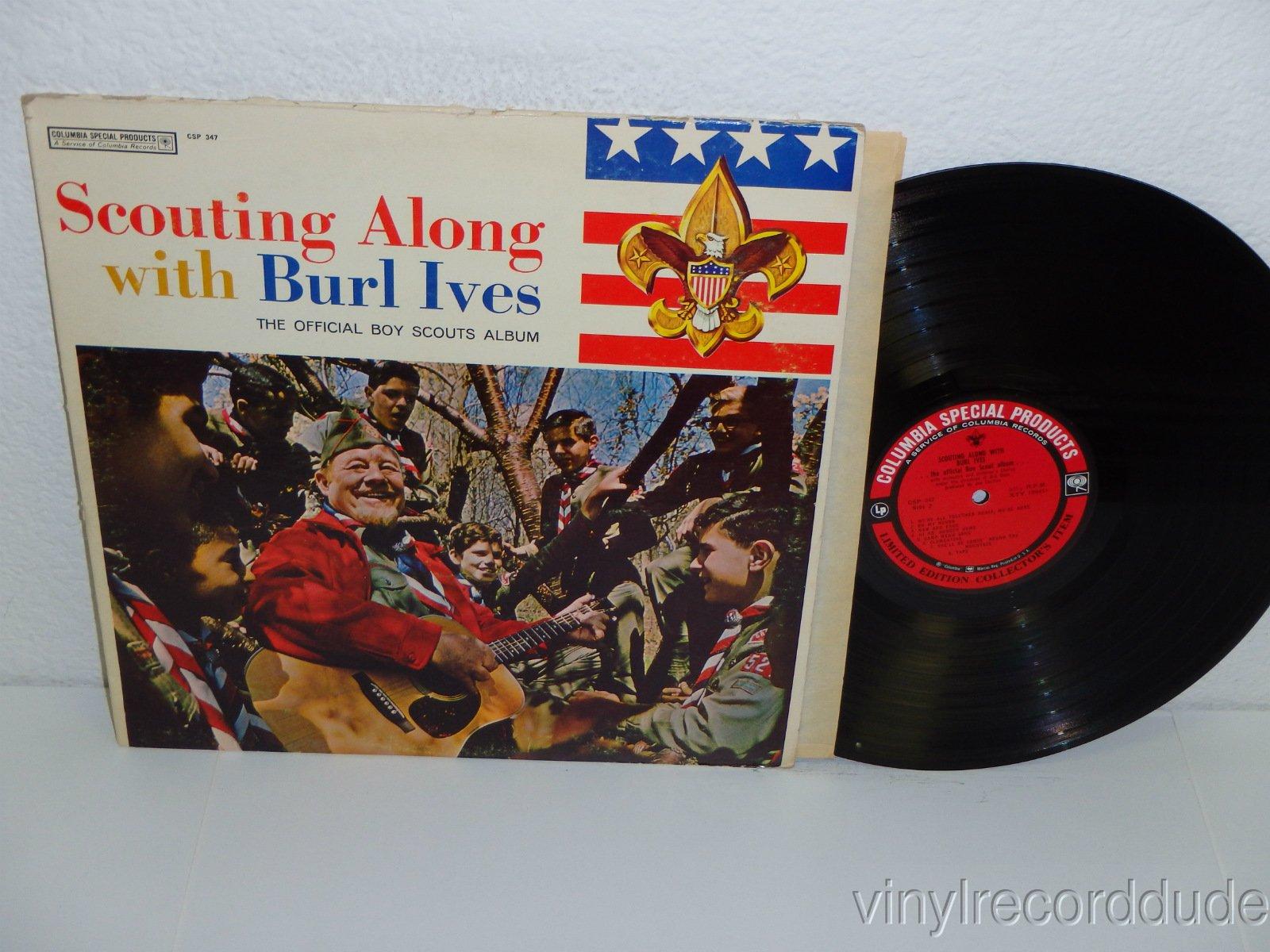 Scouting Along With Burl Ives: The Official Boy Scouts Album [Vinyl LP]