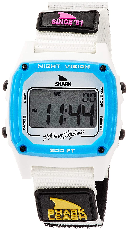 Freestyle Shark Classic Leash Since '81 Neon Night Unisex Watch FS101007
