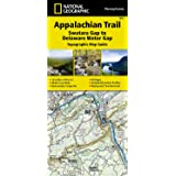 Appalachian Trail, Swatara Gap to Delaware Water Gap [Pennsylvania] (National Geographic Trails Illustrated Map)