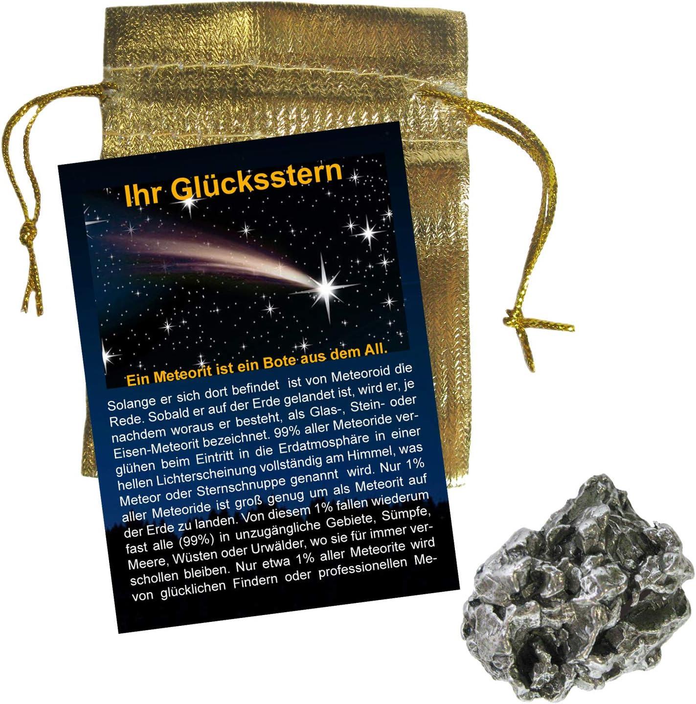 neu Meteorit Campo del Cielo Sternschnuppe Anhänger mit  Lederband