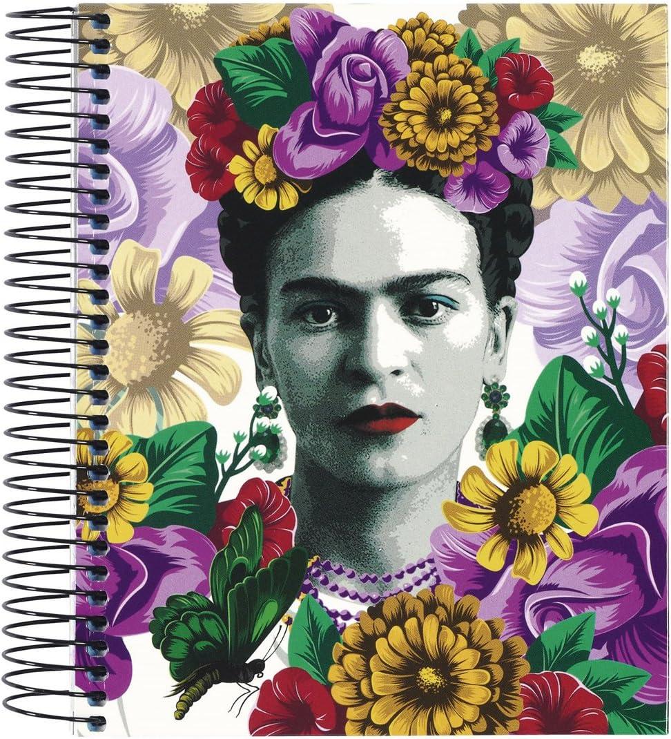 Frida Kahlo- Cuaderno Bloc A6 Micro con 120 Hojas (SAFTA 561646098 ...