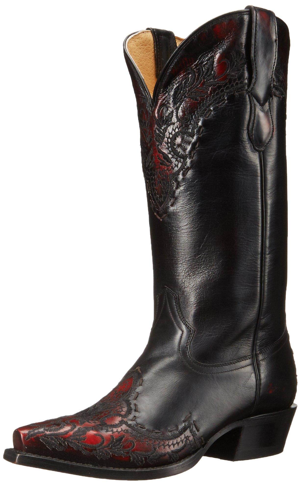 Roper Women's Mercie Work Boot, Black, 6.5 D US