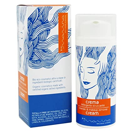 BIO MARINA - Cleanser & Make-up Remover Cream - Suaviza la ...
