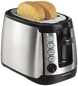 Amazon.com: Hamilton Beach 22811 Keep Warm 2-Slice Toaster ...   {Toaster 10}