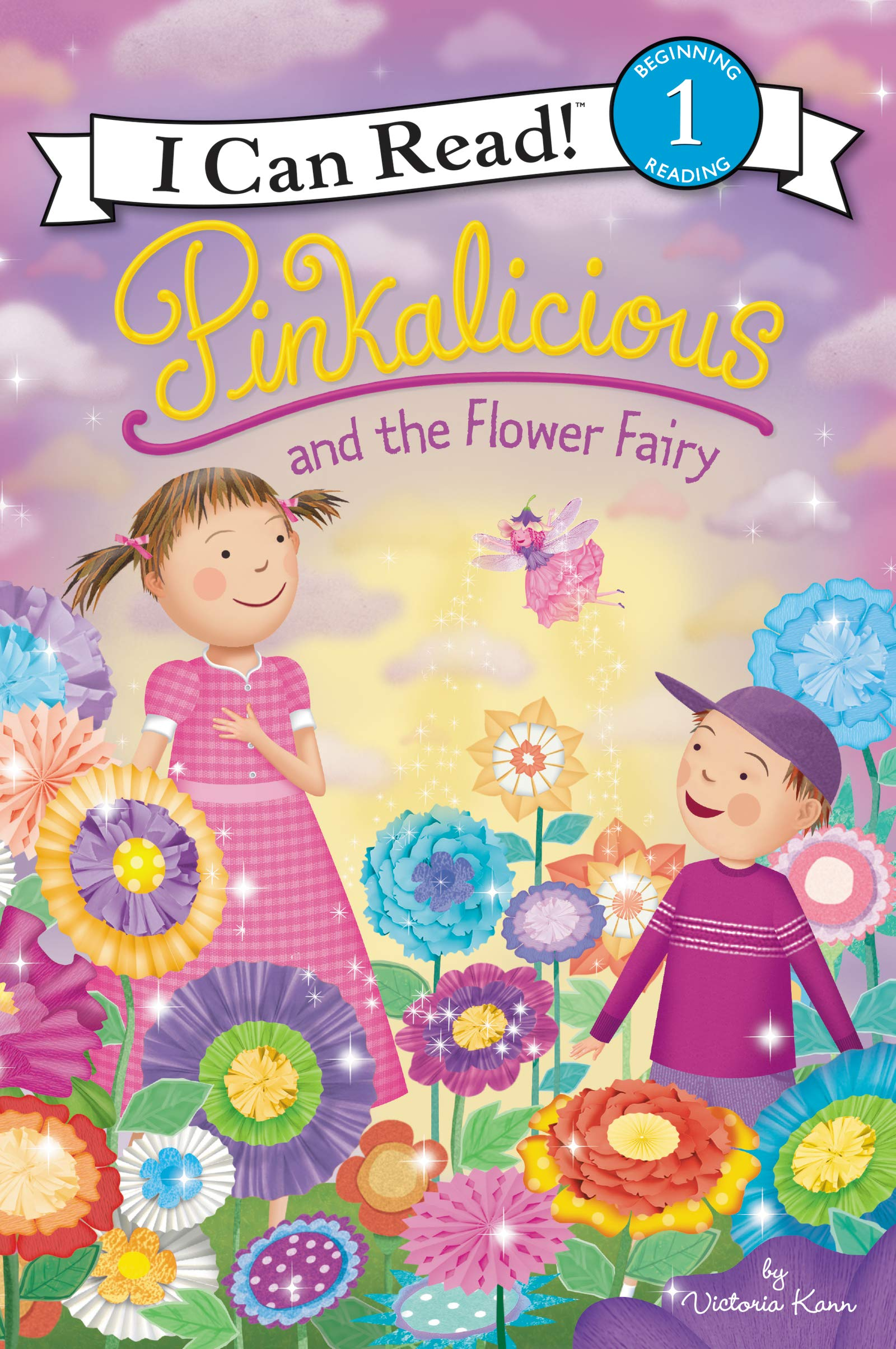 Amazon.com: Pinkalicious and the Flower Fairy (I Can Read Level 1) (9780062567017): Kann, Victoria, Kann, Victoria: Books