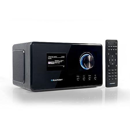 Blaupunkt IRD 300 Wlan Internet Radio, DAB+, Bluetooth, UKW-Empfang, Küchen- oder Büroradio, Radiowecker und Uhrenradio, Farb