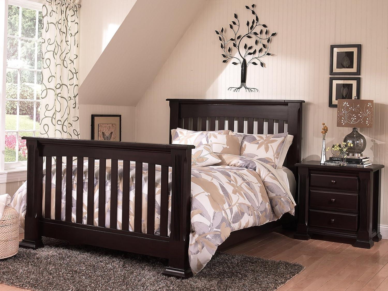amazon com baby cache tahoe full bed conversion kit espresso baby