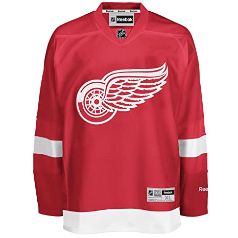 2f7ea400a8e Reebok Detroit Red Wings Premier NHL Jersey Home (XXL)  Amazon.co.uk ...