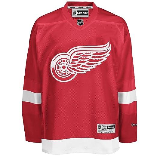 312927a9e4a Amazon.com : Reebok Detroit Red Wings Premier Replica Home NHL Hockey Jersey  Size XXL : Sports Fan Hockey Jerseys : Clothing
