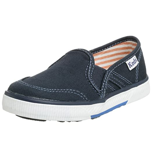 Keds Toddler/Little Kid Boys On Deck Slip-On,Navy,4 W