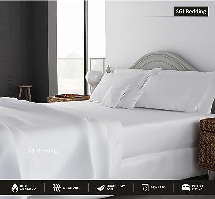 SGI Bedding CALIFORNIA KING SIZE SHEETS LUXURY SOFT 100% EGYPTIAN COTTON   Sheet  Set For