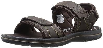 Rockport Men's Get Your Kicks Sandals Qtr Strap Coffee 13 M (D)-13